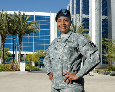 Major Marcelle Penn Mathis Medical Operations Officer