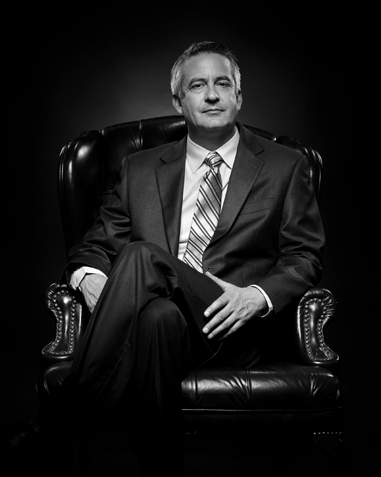 Black and White Executive portraits